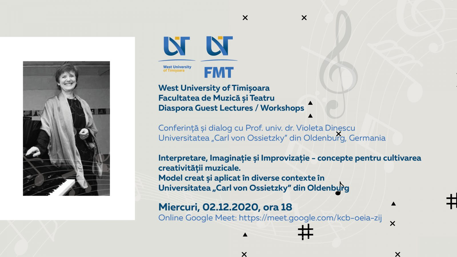 Afiș Conferință FMT Violeta Dinescu 2 Dec 2020